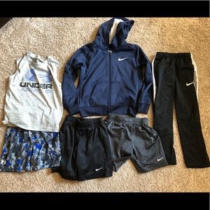4T Nike & UA boys lot